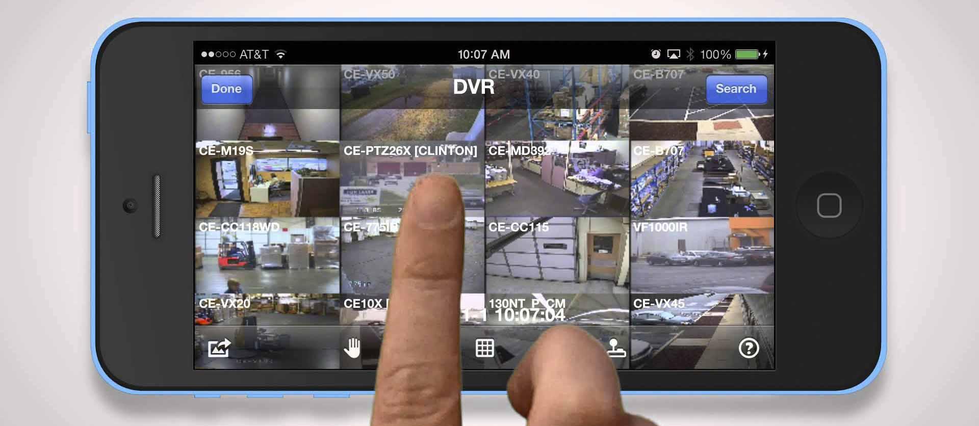 Monitored CCTV Smartphone App
